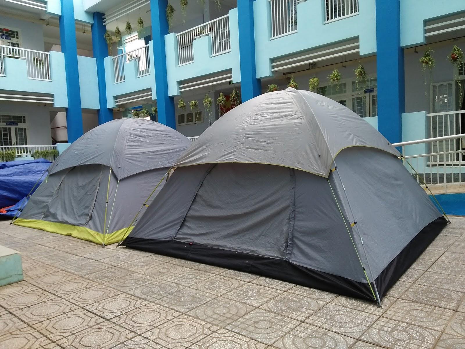 lều trại dành cho 12 người tại cửa hàng Chuyên cho thuê