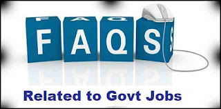 Some FAQ Related to the Government Jobs