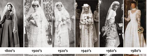 75890f0a500c Nowadays in western culture it is completely normal to see white wedding  dress. Last week I was writing about bridal trends and it got me thinking  of the ...