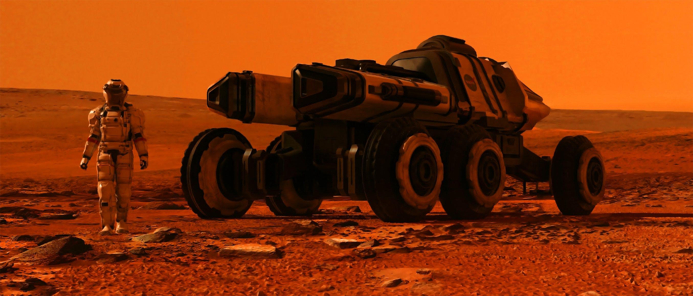 WIDE WALLPAPER FOR DESKTOP 1440P - Mars Mission