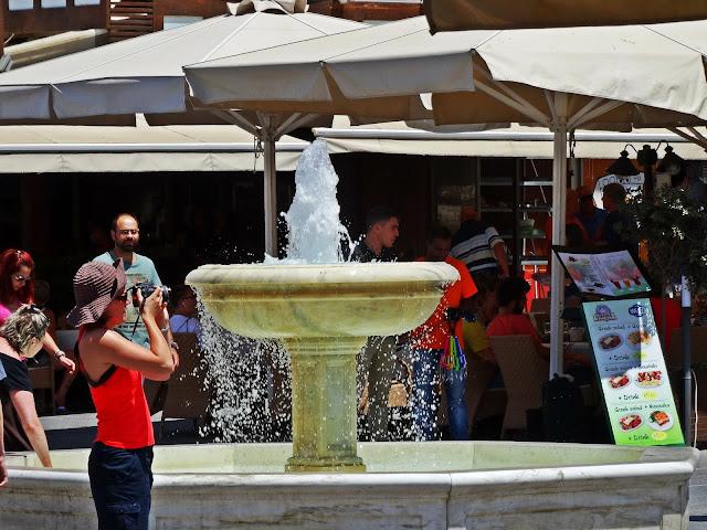 fontanna w centrum miasta Chania Kreta