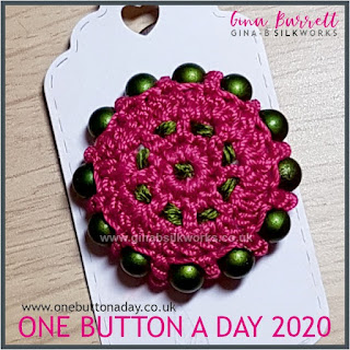 Day 197 : Orbit - One Button a Day 2020 by Gina Barrett