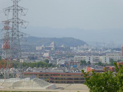 【枚方市・津田サイエンスヒルズ】空見の丘公園からの眺め