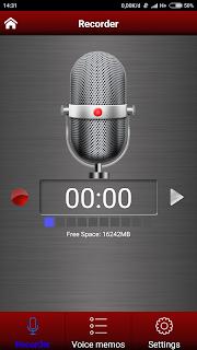 Aplikasi Voice Recorder