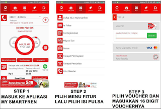 memasukkan kode voucher smartfren melalui aplikasi my smartfren