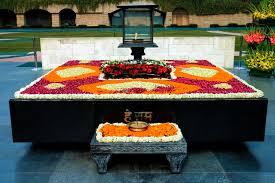 Resting place Gandhiji Rajagarh