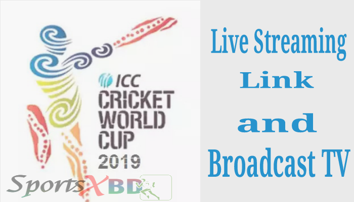 ICC Cricket World Cup 2019 Live Streaming Link & TV Channel