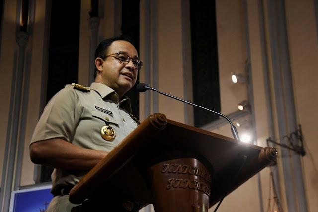 Jakarta Terus Terendam, F-PSI: Anies Ogah-ogahan Tangani Banjir
