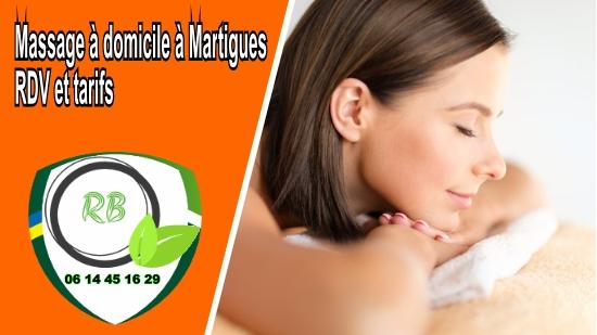Massage à domicile à Martigues, RDV et tarifs;