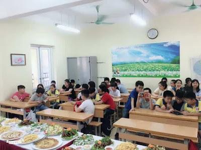 đặt tiệc buffet trẻ em tại Hà Nội