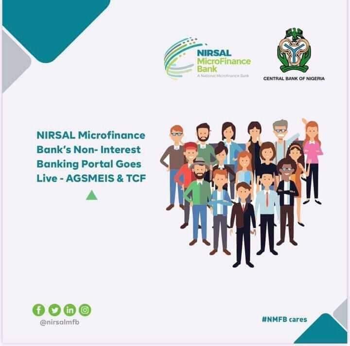 Bayan Ka Kammala Cike Sabon Tsarin Rance Marar Kuɗin ruwa na NIRSAL Microfinance Bank Shin Sun Tura Maka Wannan Sakon?