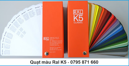 Quạt màu Ral K5