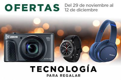 Mejores Ofertas del 29 de noviembre al 12 de diciembre, tecnología para regalar de El Corte Inglés