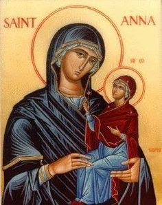 St. Anne and the Theotokos