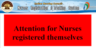 NUID Attention to Nurses registered themselves