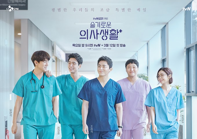 Korean Drama,The first season of  Hospital Playlist is over. Review!