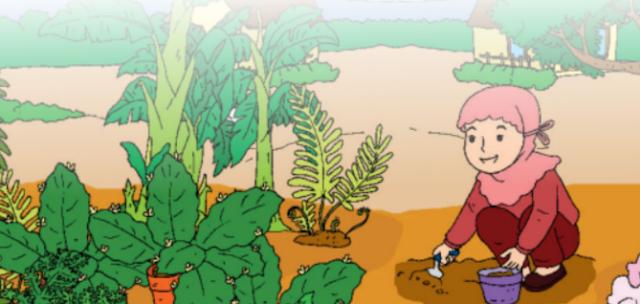 """Materi Kelas 3 SD/MI Bahasa Inggris """"Vegetable Growth"""""""