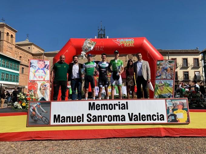 David Martín vuelve a ganar al sprint y se lleva la general del Memorial Sanroma