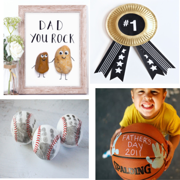 Father's Day Gift Ideas that kids can make themselves. 50+ adorable, kid-made ideas! #fathersdaygifts #fathersdaygiftsfromkids #fathersdaycraftsforkids #fathersday #fathersdaygiftsdiy #kidmadegifts #kidmadefathersday #giftsfordad #giftsfordadfromkids #growingajeweledrose