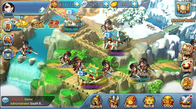 Chibi 3 kingdom Apk mod