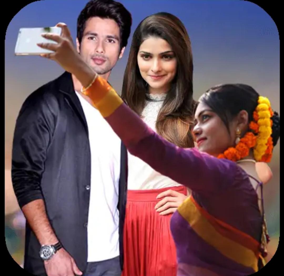 Selfie with celebrity apk,photo editor