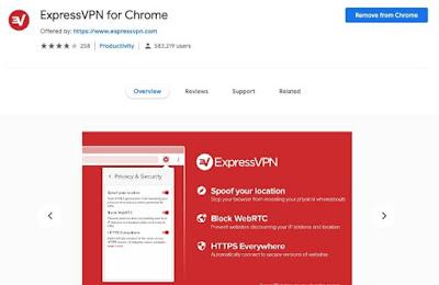 5 Ekstensi VPN Gratis Terbaik Untuk Chrome 2019 - ExpressVPN