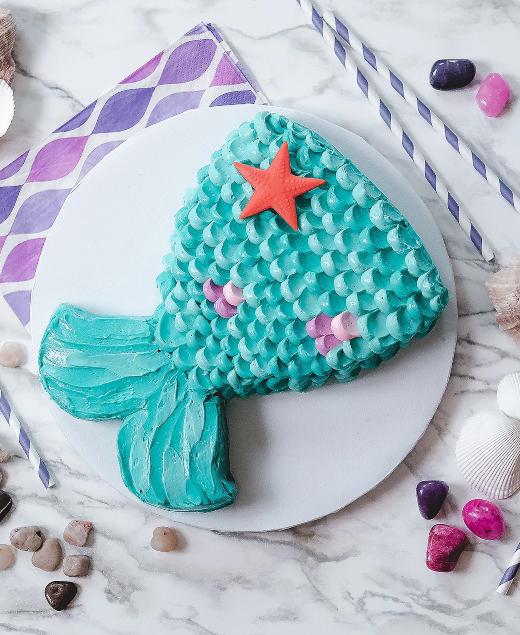Mermaid Fish Tail Cake Pan