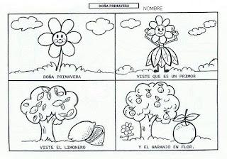 Doña Primavera poesía