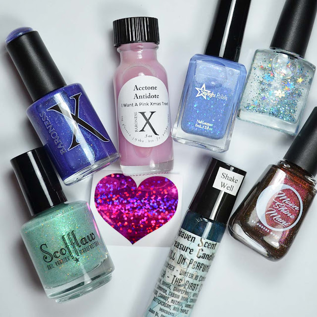 indie nail polish bottles