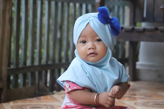 ilustrasi foto anak yang tenang, Nahla Aira Nafisah 7 Januari 2021