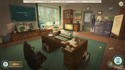 Coffee Noir Business Detective Game Screenshot 1