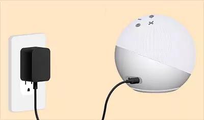 توصيل Alexa بمصدر طاقة