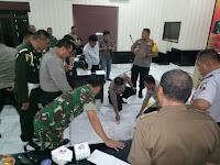 Kegiatan Pelatihan Tactical Floor Game langsung dipimpin Kapolres Lampung Utara