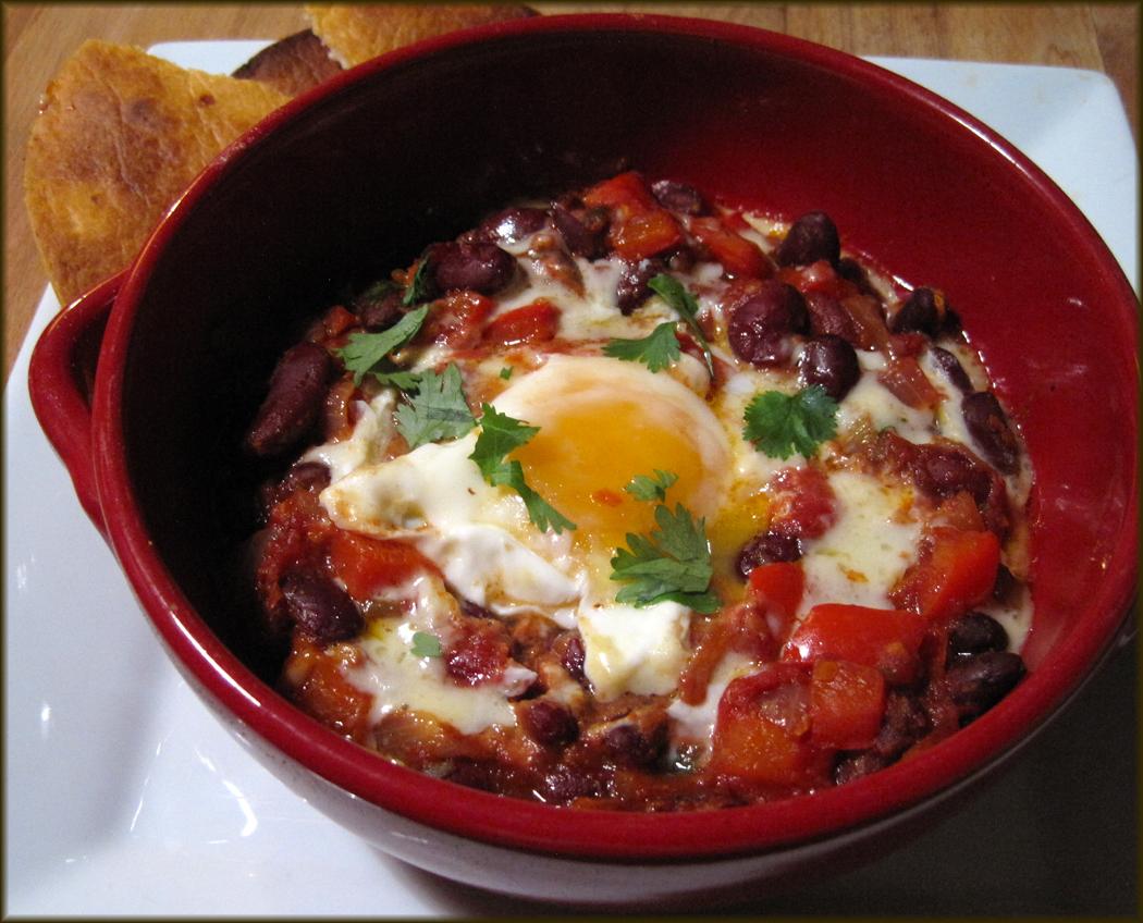 Huevos Rancheros - Eggs Mexican-Style
