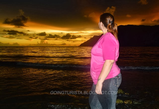 Sunset at Talisayin Cove