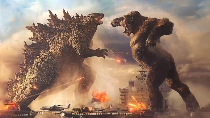 Papel de Parede Godzilla Vs King Kong