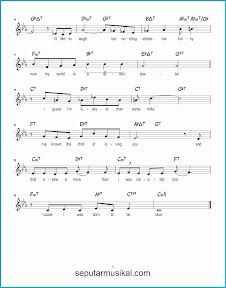 chord born to be blue 2 lagu jazz standar