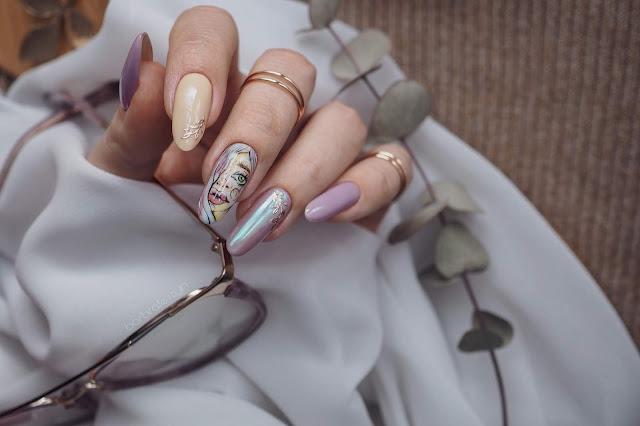 face nail art