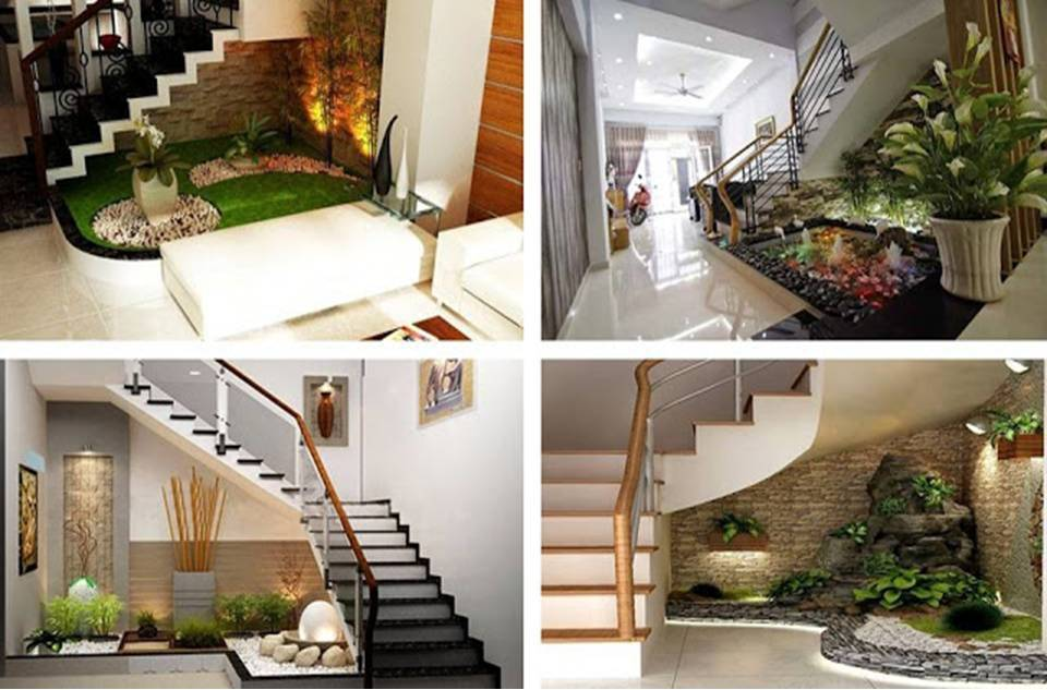 15 Awesome Under The Stairs Gardens That Are Worth Seeing