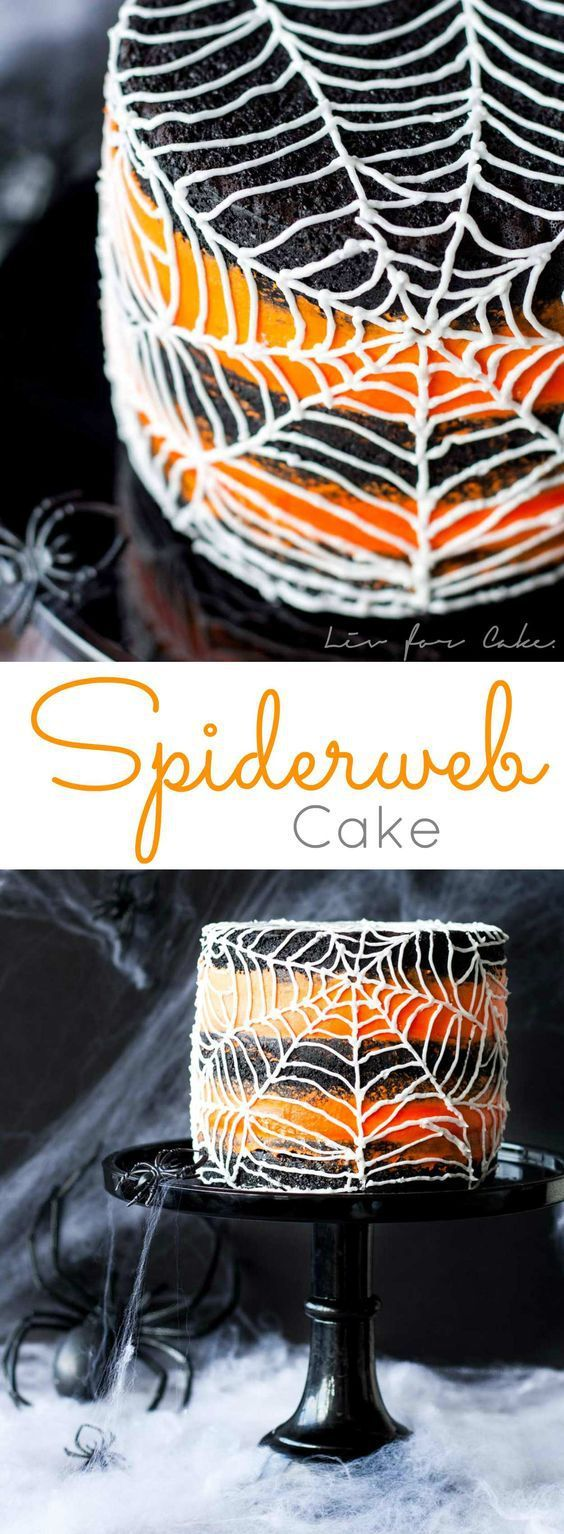MARVELOUS SPIDERWEB CAKE RECIPE