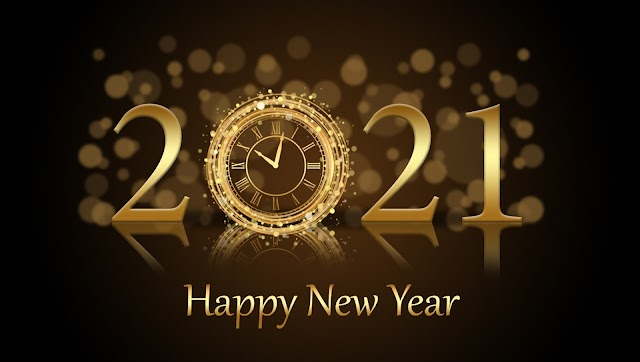 Happy New Year 2021 -