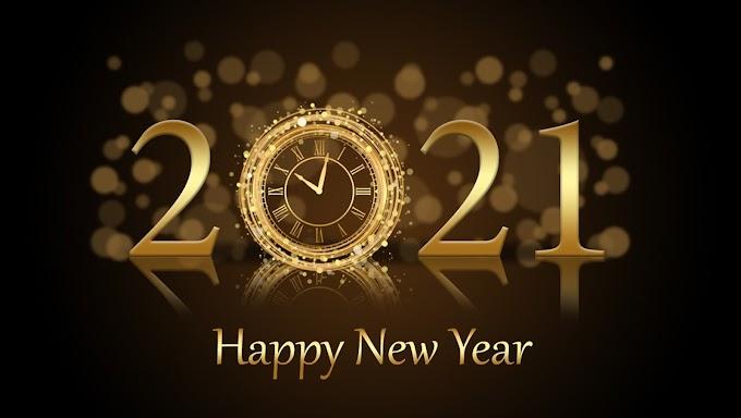 Happy New Year 2021 -
