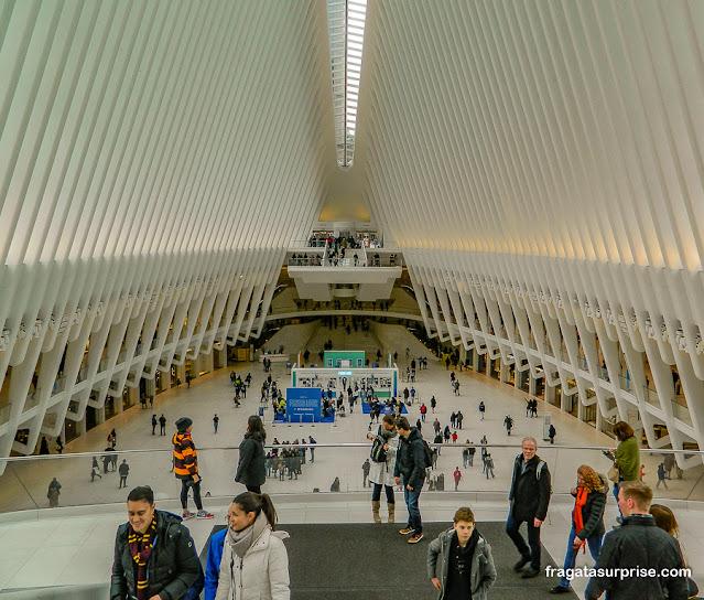 Centro comercial no novo World Trade Center, Nova York