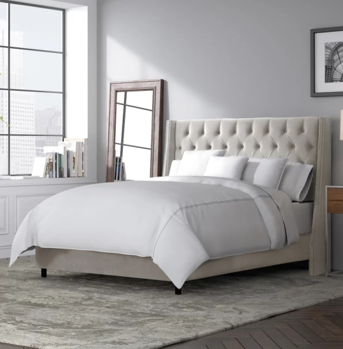 Beesley Upholstered Panel Bed