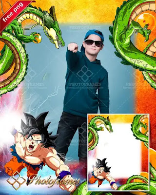 Marco para fotos de Dragon ball
