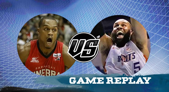 Video Playlist: Ginebra vs Meralco game replay July 9, 2018 PBA Commissioner's Cup