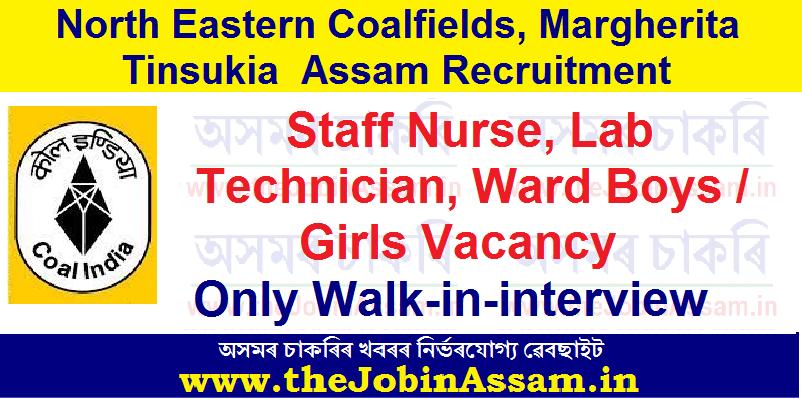 NEC, Margherita Assam Recruitment 2021