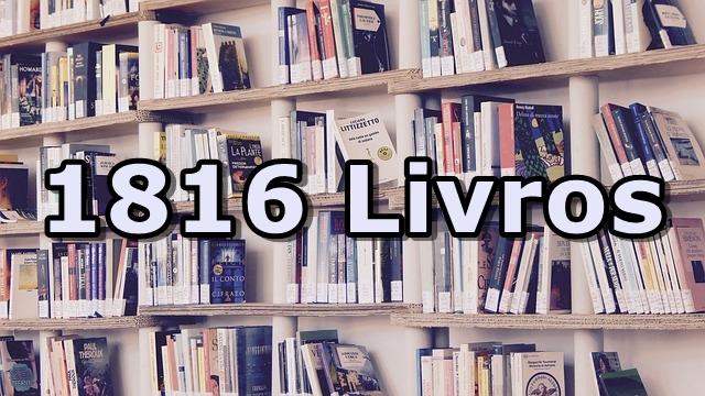 Biblioteca Online com 1816 livros em PDF
