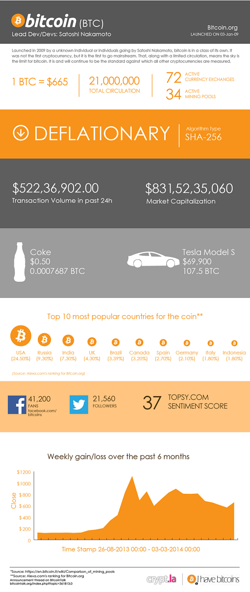bitcoin infographic - b8coin exchange