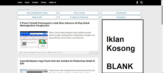 6 Cara Efektif Mengatasi Iklan Adsense Tidak Muncul di Blog/Website